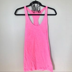 PINK VS | razorback tank top